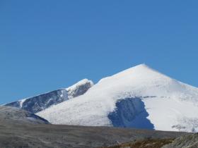 Utsikt til Snøhetta