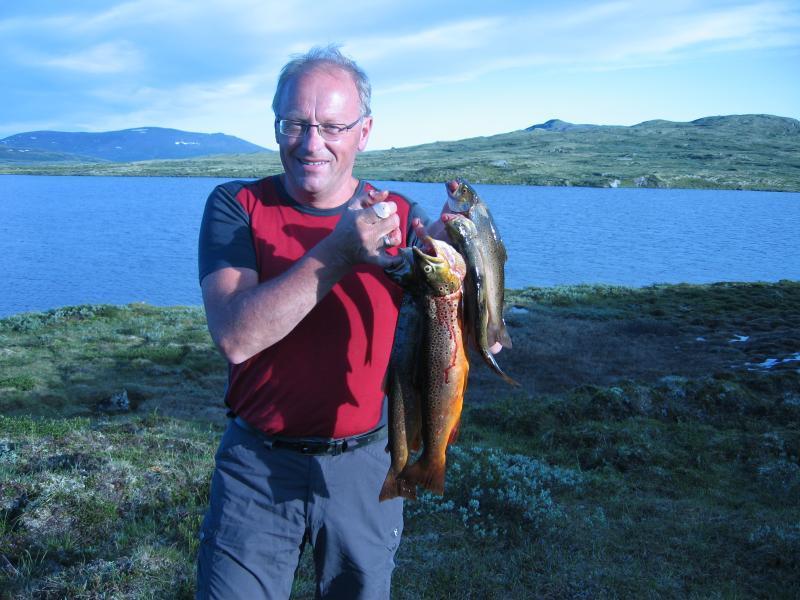 Fin fangst fra Såtålsjøen